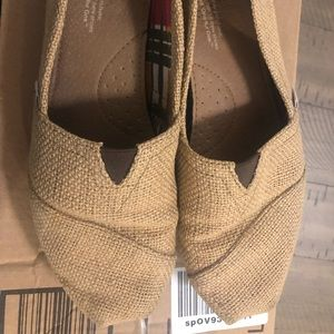 Authentic Brown Burlap Tom's